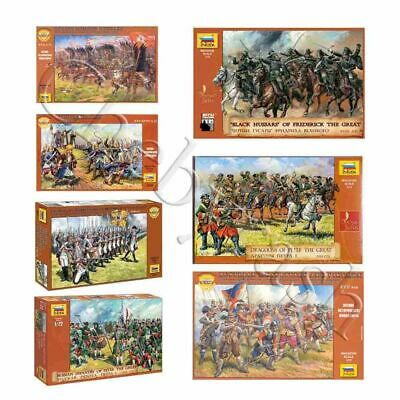 Model Kits  Soldiers Of European Armies, 16-18 Cent  Toy Figures 1:72 Zvezda • 5.79£