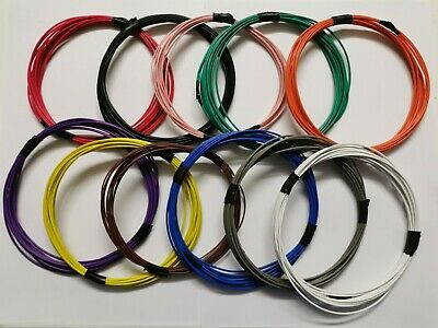 Hook Up Equipment Wire Cable 7/0.2mm 16/0.2mm Model Railway By The Meter • 3.99£