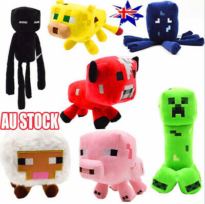 AU10.99 • Buy For Kids Gift Xmas Minecraft Animal Plush Toys Stuffed Animals Soft Toy Plushies