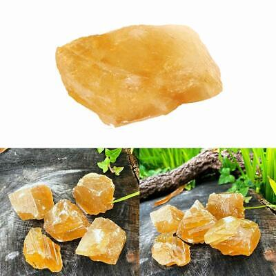 £2.59 • Buy Natural Citrine Rough Stone . 30g. HEALING CRYSTAL Crystal Calcite