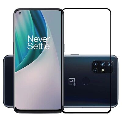 AU3.33 • Buy For OnePlus Nord N10 5G N100 Full Cover Tempered Glass Film Screen Protector B15