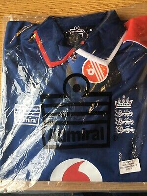 Admiral England ODI Cricket Polo Shirt - Size Small • 6£