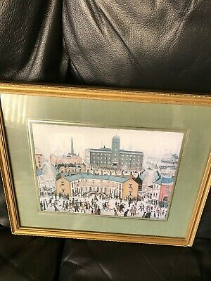 L S Lowry Framed Picture Street Party Scene Lovely Detailed Picture  • 5.50£