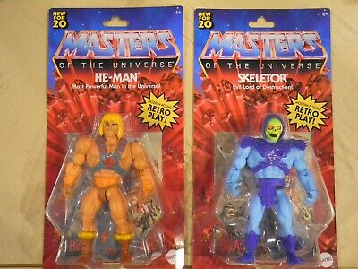 $69.95 • Buy Masters Of The Universe Origins He Man Skeletor Teela And Evil-lyn Lot New