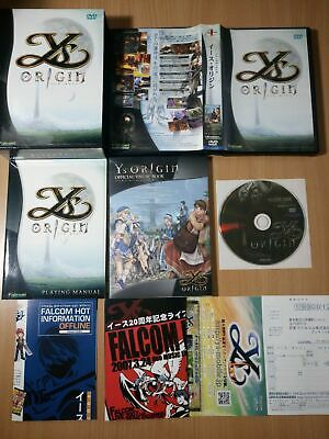 AU36 • Buy PC Ys Origin (Limited Edition) (with Art Book) ROLE PLAYING GAME NIHON FALCOM