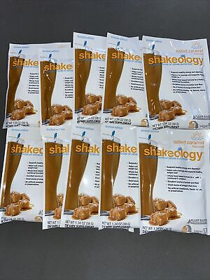 Shakeology Salted Caramel 10 Packers New Best By 4/21 Ship Fast • 34.51£