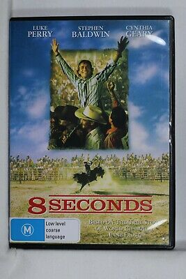 AU11.99 • Buy 8 Seconds DVD Luke Perry - Reg 4 DVD Preowned  (D630)