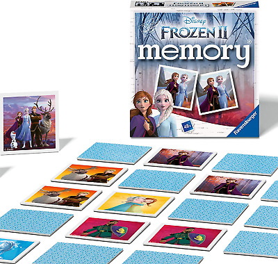 £9.36 • Buy Ravensburger 20437 Disney Frozen 2 Mini Memory Kids Age 3 Years And Up-A Classic