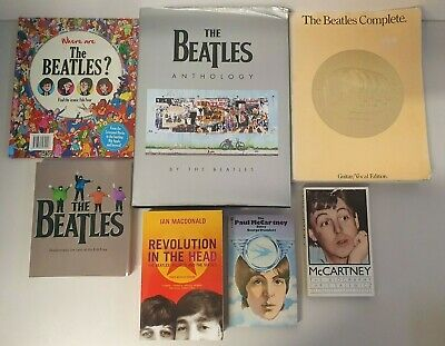 Beatles Book / Song Guide Bundle Anthology / Tabs / Revolution In The Head KO134 • 16£