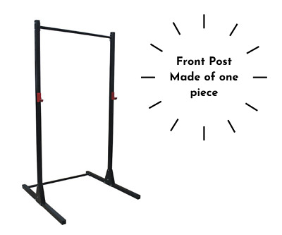 $ CDN308.79 • Buy Power Rack Squat Rack Power Cage With Pull Up Bar Bench Press Crossfit Black