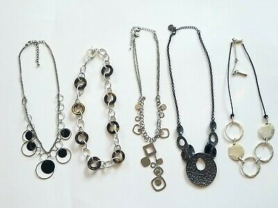 $ CDN19.54 • Buy Designer Statement Necklace Lot Of 5 Signed Lia Sophia Kenneth Cole Chaps #48