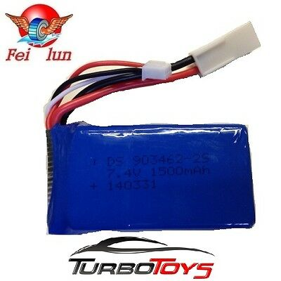 AU24.99 • Buy New - Factory 7.4v 1500mah Battery For Feilun Ft016 Rc Racing Boat -