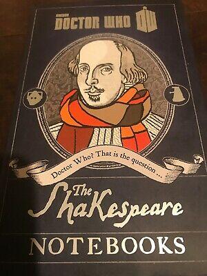 Doctor Who: The Shakespeare Notebooks By BBC (Hardback, 2014) • 4£