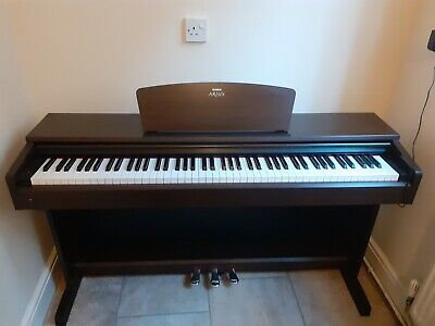Yamaha Arius YDP-140 Digital Piano In Rosewood, Weighted Keys, 3 Pedals • 185£