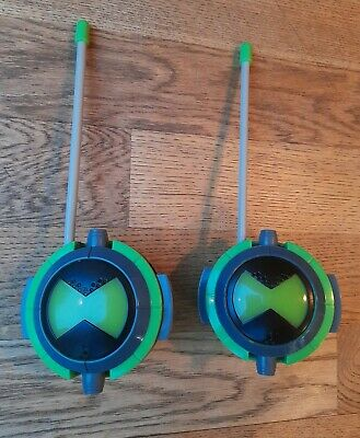 Ben 10 Alien Force Walkie Talkie - Pair Of Toy Radios  • 4.90£