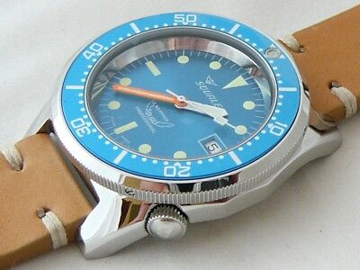 $ CDN1206.29 • Buy Watch Squale Professional OCEAN 500mt - Polished Case, Light Leather Strap