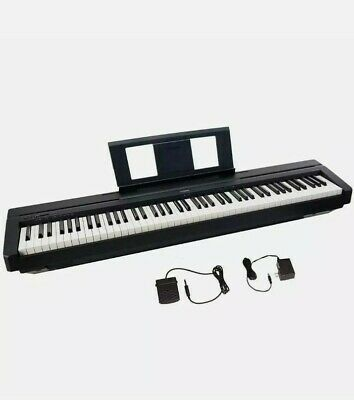 Yamaha P-45 Digital Piano Black With Pedal And Stand • 329£