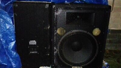 Yamaha Speakers And , Used, Collection Only . • 130£