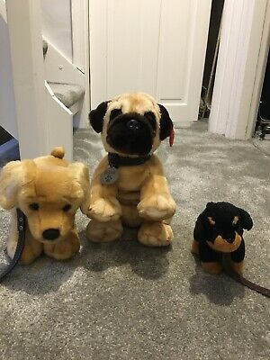 Keel Toys Soft Toy Teddy Bear Bundle X3   Condition Is  USED  • 3£