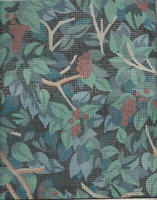 Ehrman Tapestry Canvas - Berries And Leaves Chairseat - Nicola Mountmey 1990 • 15£