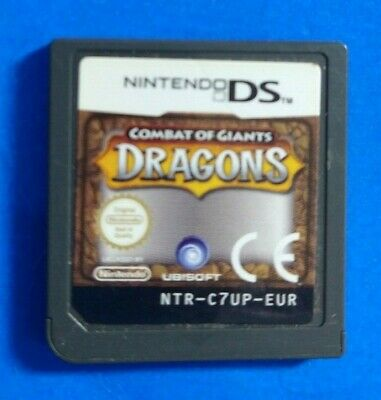 NINTENDO DS COMBAT OF GIANTS - DRAGONS GAME Cart Only • 1.98£