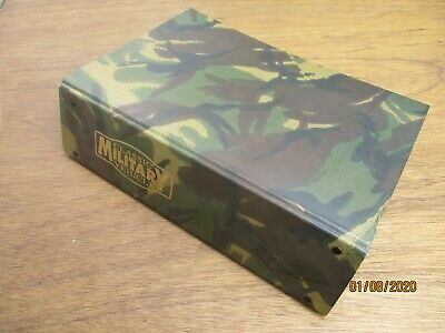 Classic Military Vehicle Magazines X 11 2002 /2005 Camouflage Binder Army Jeep • 15£