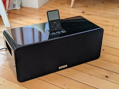 IWANTIT Black IW900 IPhone/iPod Dock Subwoofer Speaker With AUX Port And Remote • 8.50£
