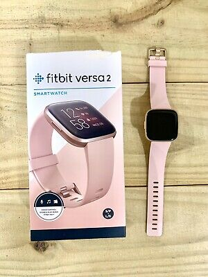 $ CDN104.27 • Buy Fitbit Versa 2 Health Fitness Smartwatch Rose Gold With Extra Bands.