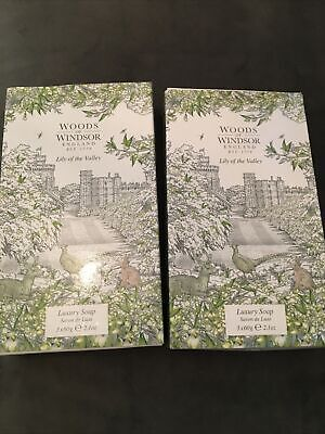 Woods Of Windsor Lily Of The Valley Luxury Soap 2x Box Of 3 (6 Total 360g)  • 10£