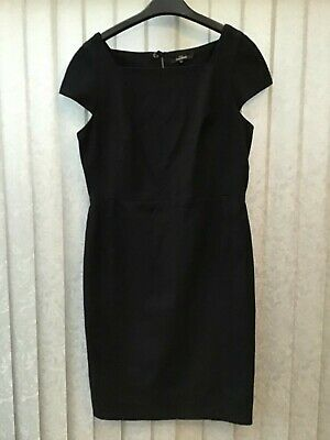 NEXT Tailored Ladies Navy Work Dress. SIZE 14. Ideal For Work. Fully Lined. • 5£