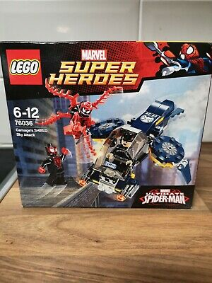 Lego Marvel Super Heroes Carnage's SHIELD Sky Attack (76036) Brand New!  • 25£