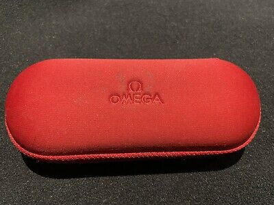Authentic Omega Watch Box Travel Service Case With Foam Inserts Used • 0.99£