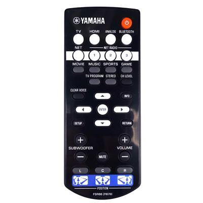 AU67.94 • Buy Genuine Yamaha FSR86 Soundbar Remote Control
