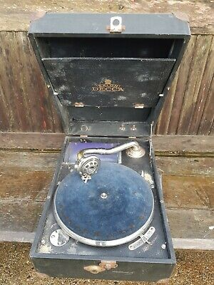 Salon Decca Portable Gramophone - Spares Or Repair • 35£
