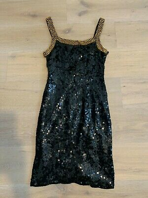 Lovely Womens Evening Dress By Simon Ellis, Size S - 10, Great Condition • 4.99£