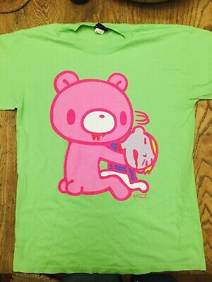 Authentic Gloomy Bear Medium Green Dark Horse Comics Tshirt Mori Chack Kawaii • 12£