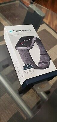 $ CDN76.90 • Buy Fitbit FB505BKGY Versa Special Edition - Charcoal Woven Band Used Great Shape