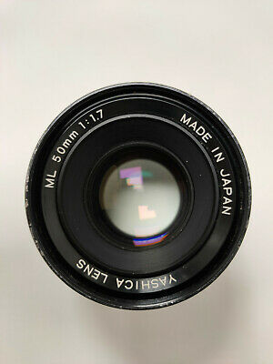 Yashica ML 50mm 1.7 Contax/Yashica C/Y Mount Lens • 19.99£