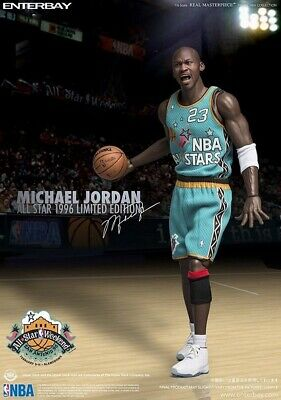 $500 • Buy NBA Michael Jordan 1996 All-Star Game 1:6 Scale Real Masterpiece Action Figure
