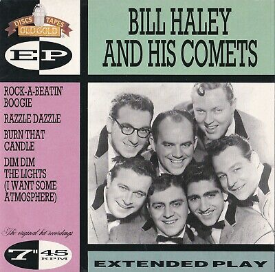Bill Haley And His Comets,  Ep.  Og 7702.    Mint Condition,  Old Gold  • 3.75£