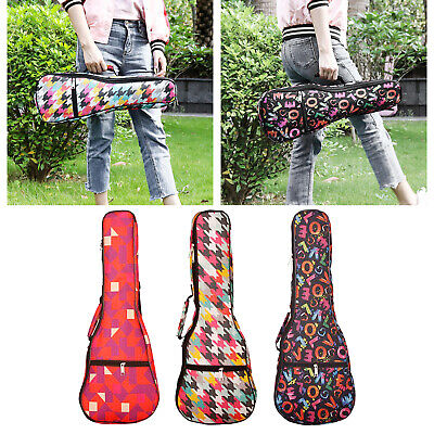AU15.76 • Buy 21 / 23 / 26 Inch Portable Ukulele Bag Colorful Soft Padded Case Gig Ukulele