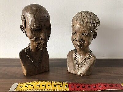African Wooden Carvings • 6£
