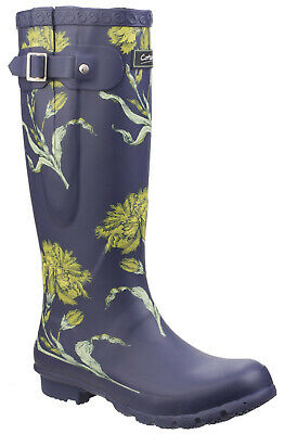 Cotswold Windsor Womens Ladies Wellies Wellington Flower UK Size • 53£