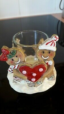 Yankee Candle Gingerbread Tealight Holder • 9.95£