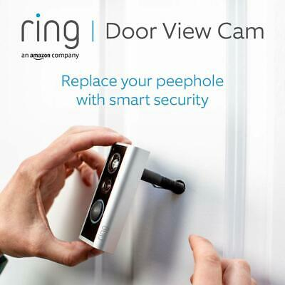 Ring Door View Cam - Door Peephole Camera HD Video Two-Way Talk • 89.99£
