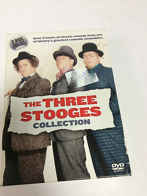 The Three Stooges Collection (DVD, 3-Disc Box Set) . • 9.50£