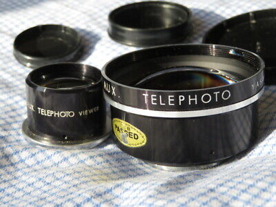 Yashica Aux Telephoto Lens Set For MAT 124G • 80£