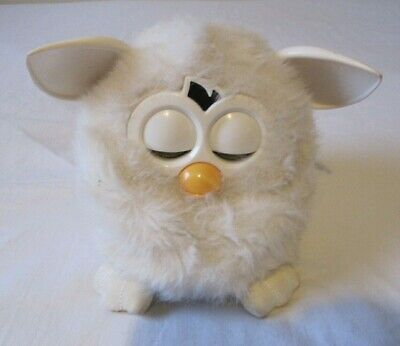 Official Vintage Tiger Furby 2012 Yeti White Electronic Talking Pet Working • 17.99£