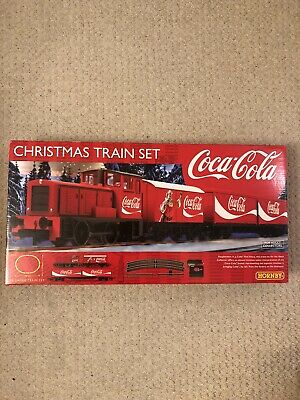 Hornby R1233 Coca-Cola Christmas Train Set Brand New Un Opened • 64.50£