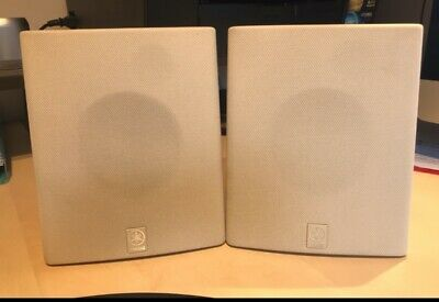 Yamaha NS-E103 Speakers Wall Mounts-25/80W,6 Ohms Fully Working. Collection RG41 • 4.65£